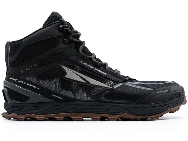 Altra Lone Peak 4 Mid Mesh Shoes Men, black